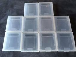 10pcs Plastic Cases Game Cartridge Storage Box For Nintendo