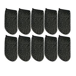 10pcs Touch Screen Thumbs Finger Sleeve for Mobile Phone Gam