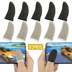 20pcs screen pubg gaming finger sleeve game