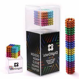 DigitDots 224 Pcs 5mm Magnetic Fidget Balls Multi Color 8 Co