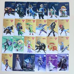 24 PCS NFC Amiibo Game Cards for The Legend of Zelda Botw Sw