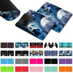 2pcs Gaming Mouse Mat Pad Non-Slip Rectangle Mousepad For Co