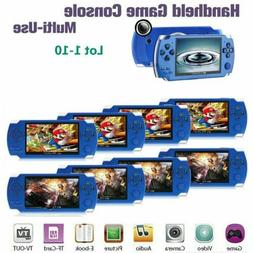 32Bit 10000 Games Built-In Handheld Video Game Console Playe