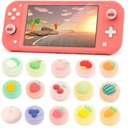 4Pcs Animal Crossing Silicone Joystick Thumb Grips Cap for N