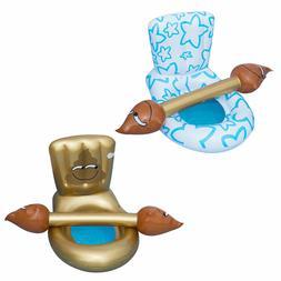 4pcs pvc competitive game toy sticks toilet