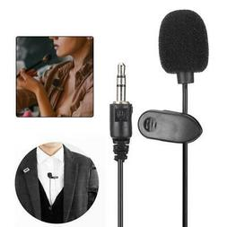 5pcs mini wired clip collar microphone laptop