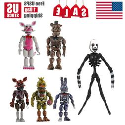 """6Pcs Five Nights At Freddy's Action 6"""" FNAF Articulated Figu"""