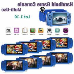 "8GB 4.3"" 32 Bit Built-In 1000 Game Portable Handheld Video G"