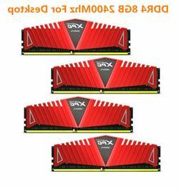 For ADATA XPG 8GB 16GB DDR4 FAST 2400MHz RAM  PC4-19200 288P