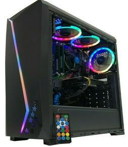 AMD Gaming PC Computer 2TB HDD Custom Built RYZEN Desktop 16