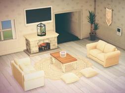 Animal Crossing New Horizons Beautiful Living Room FULL SET