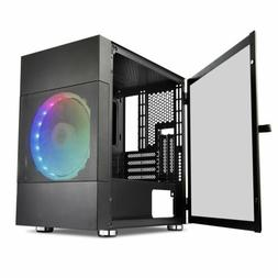 Segotep Argus ATX Mid Tower Gaming PC Computer Case w/ 3pcs