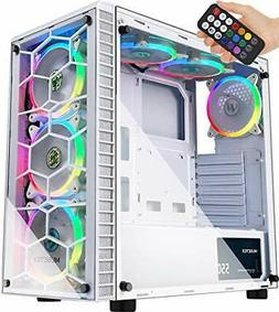atx mid tower computer gaming case