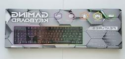 Brand new Tech 2 RGB Gaming Keyboard Universal works with al