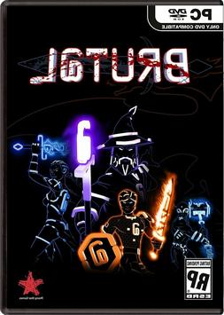 Brutal Rising Star PC DVD Game NIP Win 7 and Up