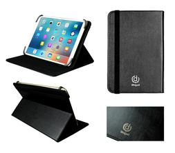 Bugatti Black Universal Wallet Folio Case Cover fits Acer Ch