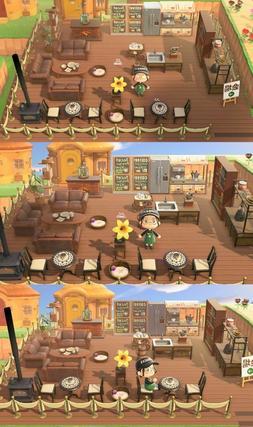 Cafe Outdoor Furniture Set 37 PCS - Animal Crossing New Hori