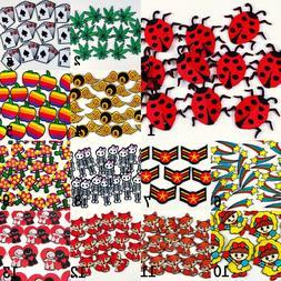 Cartoon Iron on patch Ladybug/leave/card/star/fox/skeleton/A