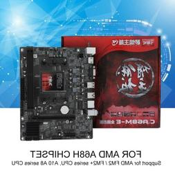 Colorful A68M PC Gaming for AMD A68H FM2 FM2+ Motherboard DD