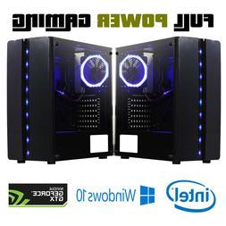Custom Built Gaming Desktop PC intel i7 7700 Quad Core Gefor