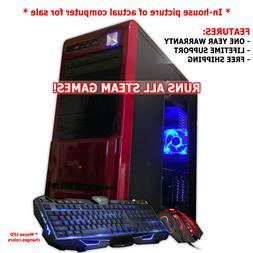 Custom Intel i7 Gaming Desktop PC Computer 2TB 16GB GeForce