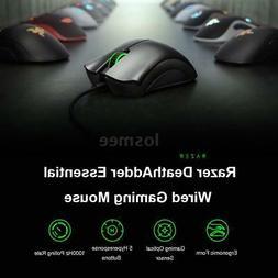Razer DeathAdder Essential 6400DPI PC Gaming Mouse Mice Opti