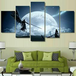 Final Fantasy Game Animation Character Canvas Print Painting