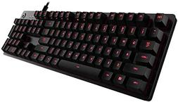 Logitech G413 Backlit Mechanical Gaming Keyboard with USB Pa