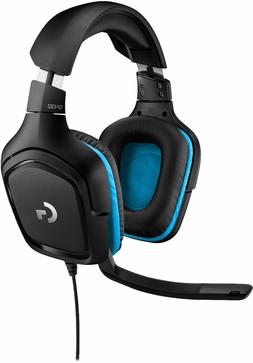 Logitech - G432 Wired 7.1 Surround Sound Gaming Headset for