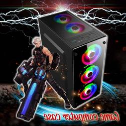 gaming computer pc case cover rgb cooling