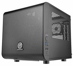 Gaming PC Case Computer Mini ITX Cube Thermaltake Core V1 Ch