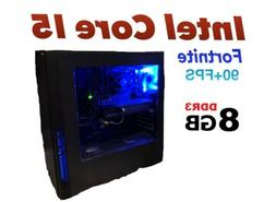GAMING PC DESKTOP COMPUTER INTEL CORE i5 GTX 1050 8GB RAM 50