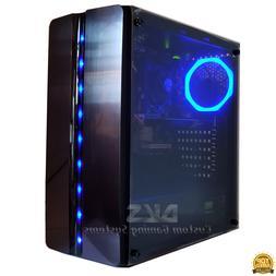 GAMING PC DESKTOP COMPUTER INTEL CORE i5 QUAD GTX 1060 SSD 8