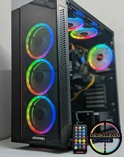 Gaming PC Desktop Computer RGB Intel i7, RTX 2060, 16GB RAM,