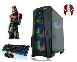 Gaming PC RGB Desktop Computer Intel i5 ,16GB,2TB,120 SSD,GT