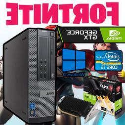 Gaming Dell Pro Budget Intel i5 Fortnite Desktop PC 500GB Co