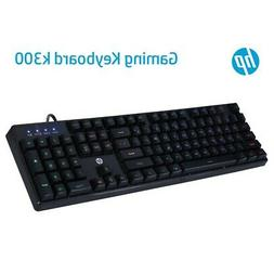 HP K300 Mechanical PC LED Backlit Gaming & Office USB Wired