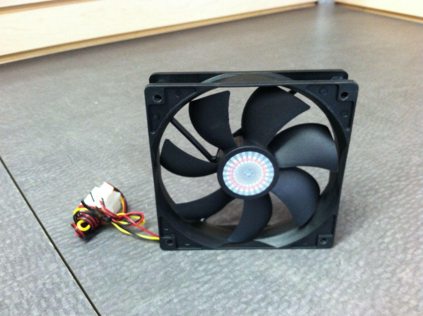 1200 RPM!! Pair Cooler Case Fans Gaming Theater
