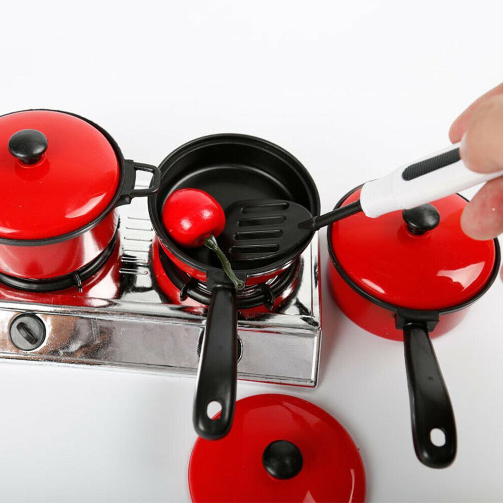 13pcs/Set Kids Toys Cooking Tableware Game