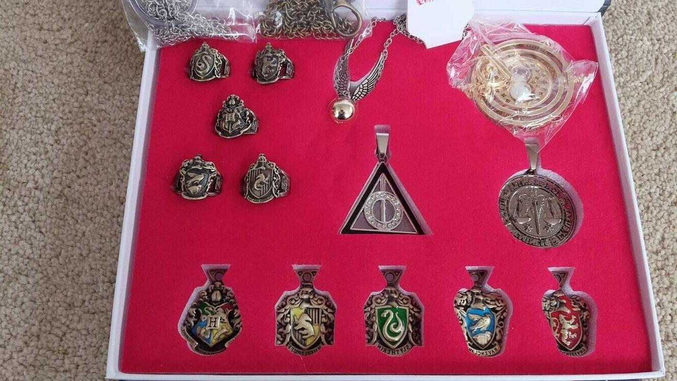 14 PCS Harry wand necklace game