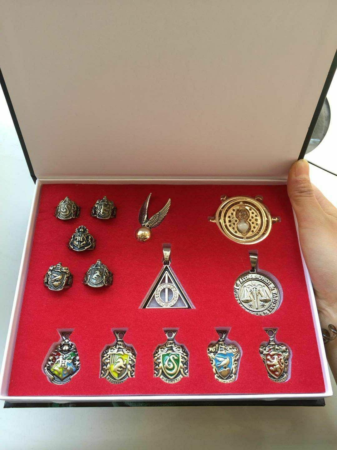 14 PCS Harry wand wands necklace decorate Gift cosplay game