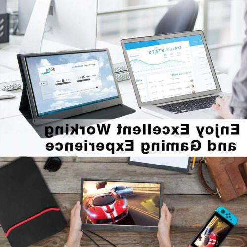 "15.6"" 13.3"" IPS Portable Gaming Display Raspberry Pi"