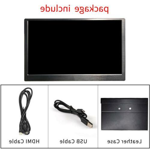 "15.6"" 13.3"" HD Portable Monitor 1920×1080 Display for"