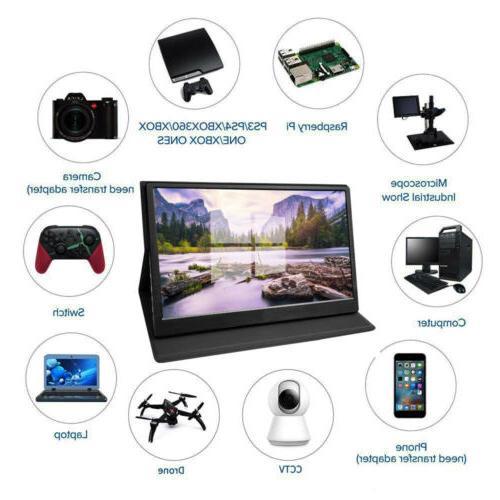 "15.6"" 13.3"" Portable Gaming Monitor 1920×1080 Display for"