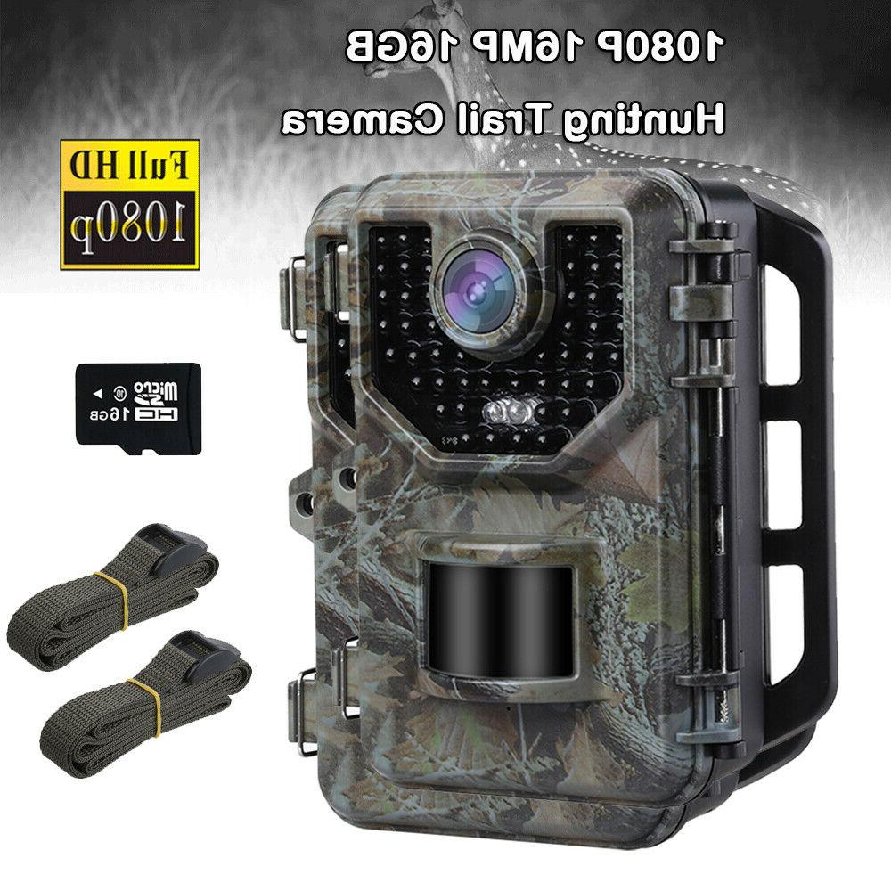 16MP 1080P Camera With + 2X Trail Cameras