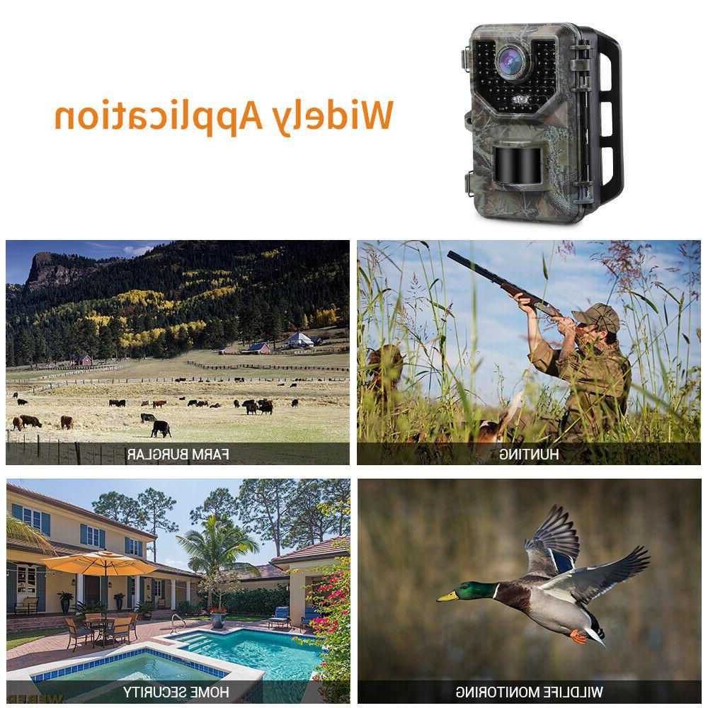 16MP 1080P Hunting Camera With Trail