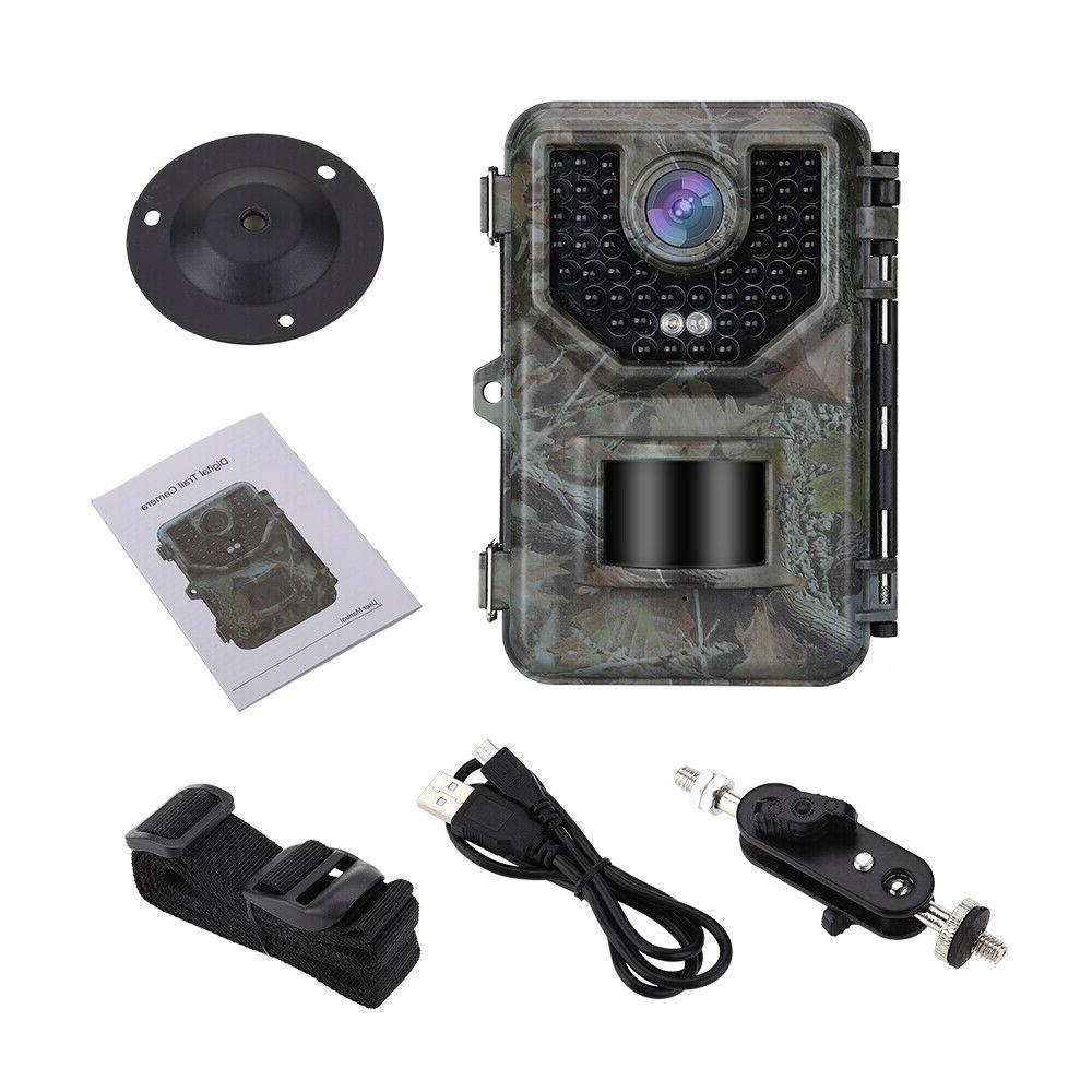 16MP 16GB Hunting Game 48PCS Glow LED Security
