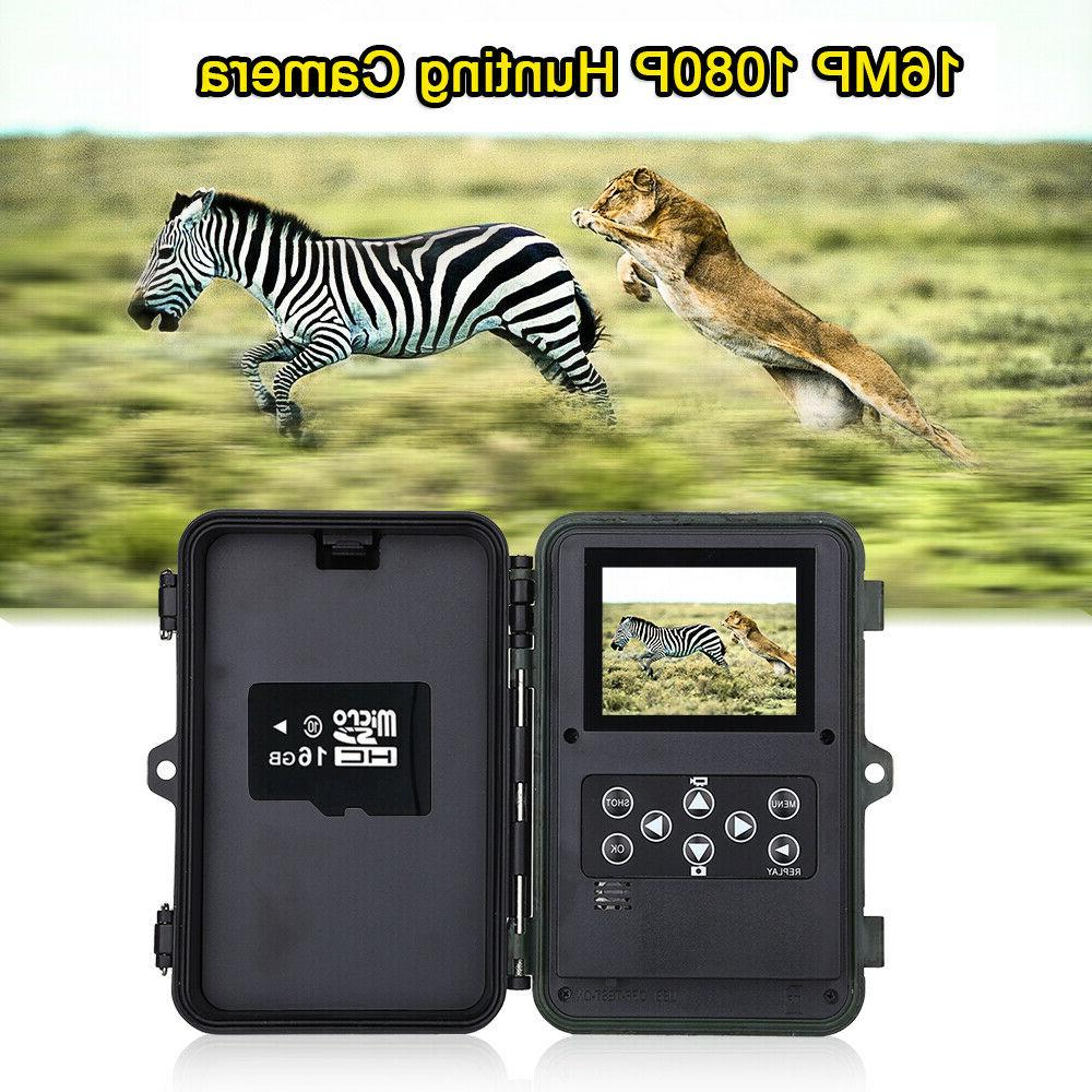 16MP Hunting Game Camera 1920x1080P Security Cam