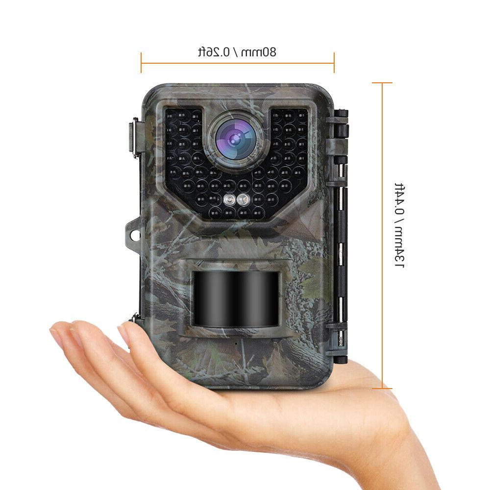 16MP 16GB Hunting Game Camera 48PCS Glow LED Security
