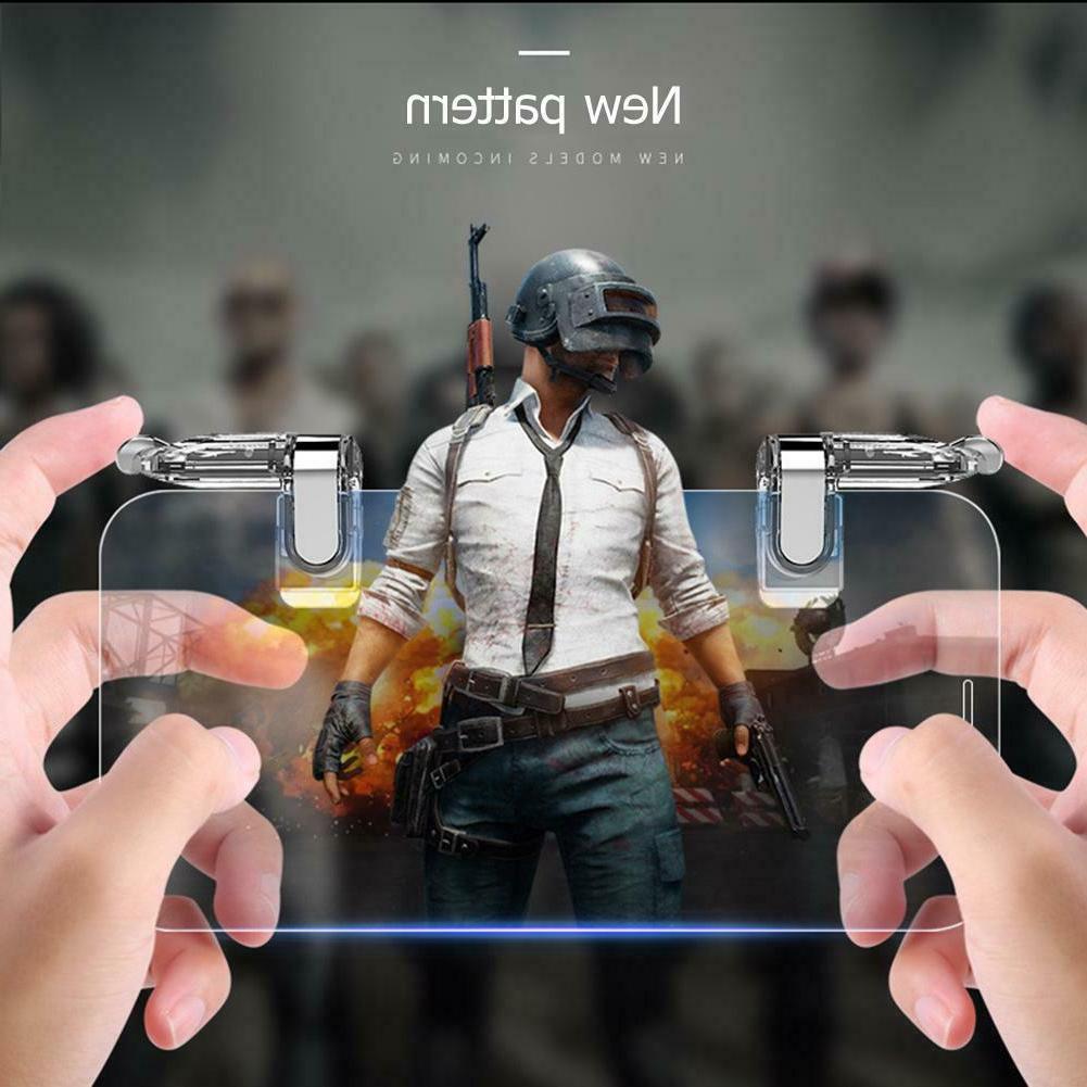 2pcs k03 mobile phone gaming grip trigger